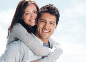 Couple happy and healthy